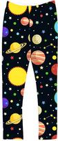 Urban Smalls Black Solar System Leggings - Toddler & Girls