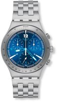 Swatch Men's Irony YCS575G Silver Stainless-Steel Swiss Quartz Watch with Dial