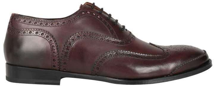 Alexander McQueen Leather Oxford Brogue