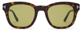Tom Ford Eugenio Tortoiseshell Sunglasses - Mens - Tortoiseshell