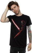 Star Wars Men's Darth Vader Shadow T-Shirt X-Large Black