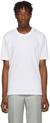 Jil Sander White Cotton T-Shirt