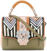Paula Cademartori stripes shoulder bag Dun Dun - women - Lamb Skin - One Size