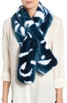 Ted Baker Women's Colorblock Faux Fur Scarf
