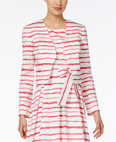 Nine West Striped Blazer