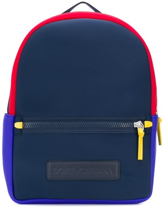 Dolce & Gabbana contrasting backpack