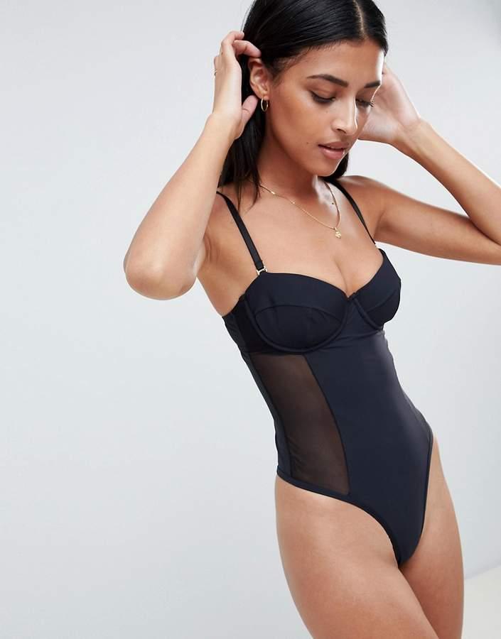 8b1fd0b751be7 Underwire Bodysuit - ShopStyle