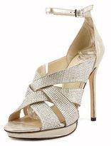 Vince Camuto Grimes Women US Size 7 Gray Suede Sandals