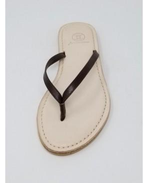 N.Y.L.A. Premium Carmel Thong Sandal Women's Shoes