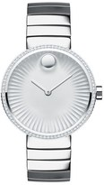 Movado Women's 'Edge' Diamond Bracelet Watch, 34Mm