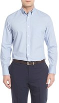 Nordstrom Men's Big & Tall Smartcare(TM) Windowpane Sport Shirt