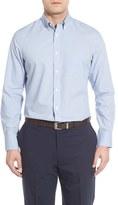 Nordstrom Smartcare TM Windowpane Sport Shirt (Big & Tall)