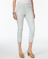 Style&Co. Style & Co Petite Ella Printed Cropped Boyfriend Jeans, Created for Macy's