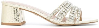 Carvela Galore crystal embellished sandals