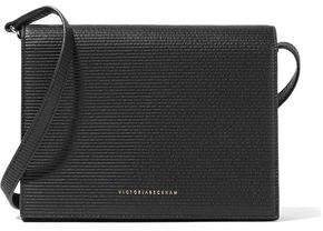 Victoria Beckham Star Mini Embossed Textured-Leather Shoulder Bag