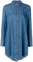 Equipment denim shirt dress