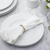 Crate & Barrel Aria Gold Napkin Ring