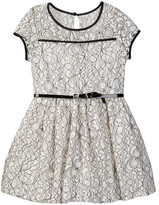 My Michelle mymichelle Floral Lace Dress (Big Girls)