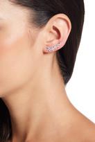 Shashi Floral Climber Earrings