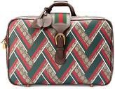 Gucci GG Chevron suitcase