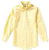 Class Club Gold Label Big Boys 8-20 Textured Dress Shirt