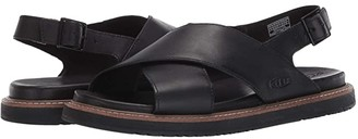 Keen Lana Cross Strap Sandal (Black/Black) Women's Shoes