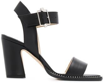 Jimmy Choo Minase 85mm block heel sandals