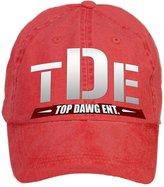 WHUO Unisex TDE Kendrick Lamar Vintage DIY Adjustable Baseball Caps