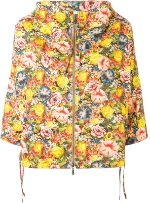 Marni floral hooded jacket