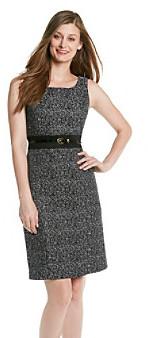 Tahari ASL® Novelty Belted Sheath Dress