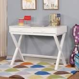 Stiller Desk Ebern Designs Color: White