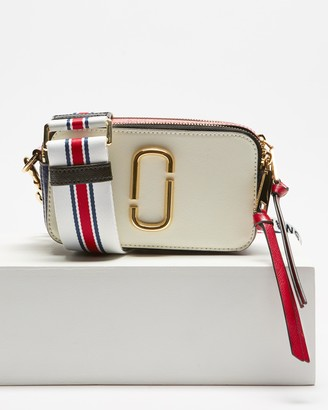 Marc Jacobs Women's White Leather bags - Snapshot - Size One Size at The Iconic