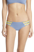 Becca 'Electric Current' Strappy Hipster Bikini Bottoms