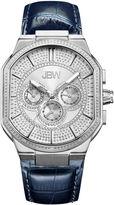 JBW Orion 0.12 C.T.W Diamond Accent Mens Blue Strap Watch-J6342a
