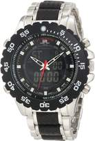 U.S. Polo Assn. Classic Men's US8161 and Silver Bracelet Digital Watch