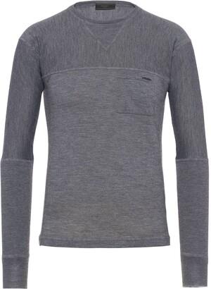 Prada Embroidered Logo Cashmere Jersey