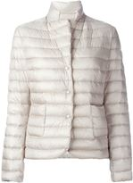 Moncler 'Leyla' padded jacket - women - Feather Down/Polyamide - 3