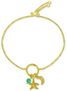 Kona Bay Starfish Charm Bolo Bracelet in Gold-Plate