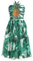 Dolce & Gabbana Embellished Silk Dress
