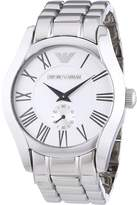 Emporio Armani Men's AR0647 Classic Stainless Steel Dial Quartz Watch