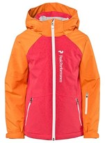 Peak Performance Pink and Orange Starlet Printed Ski Jacket
