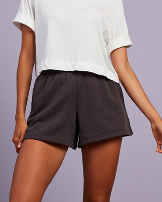 Nude Lucy Women's Grey Shorts - Carter Classic Shorts - Size XS at The Iconic