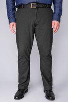 Yours Clothing BadRhino Dark Grey Stretch Chinos - TALL