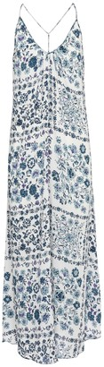Poupette St Barth Felicia floral slip dress