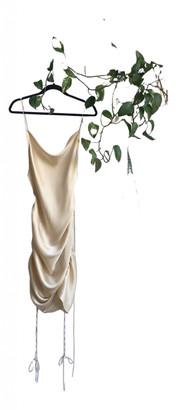 Orseund Iris Beige Polyester Dresses