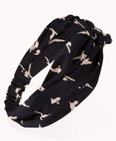Forever 21 Knotted Dove Headwrap