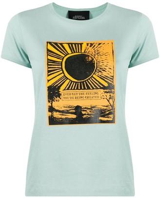 Marc Jacobs sunrise print T-shirt