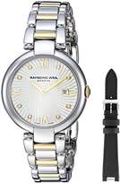 Raymond Weil Women's 'Shine' Quartz Stainless Steel Dress Watch