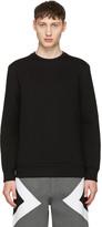 Neil Barrett Black Army Patch Sweatshirt