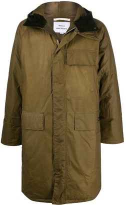 Barbour Multi-Pocket Hooded Coat